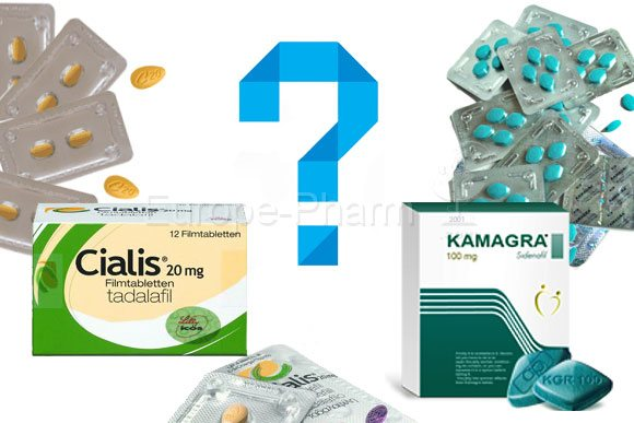 Cialis or Kamagra