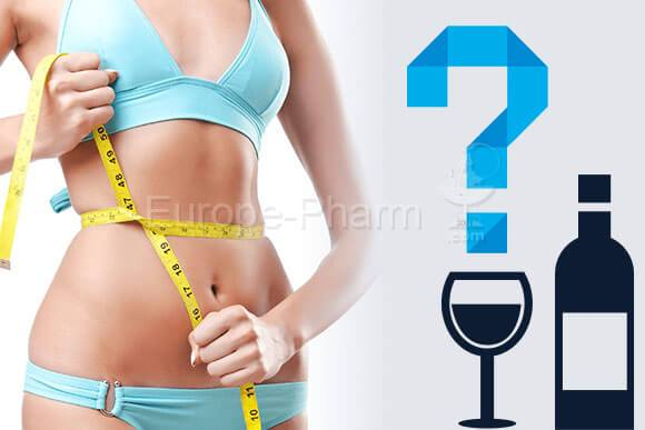 slimming diet and alcohol